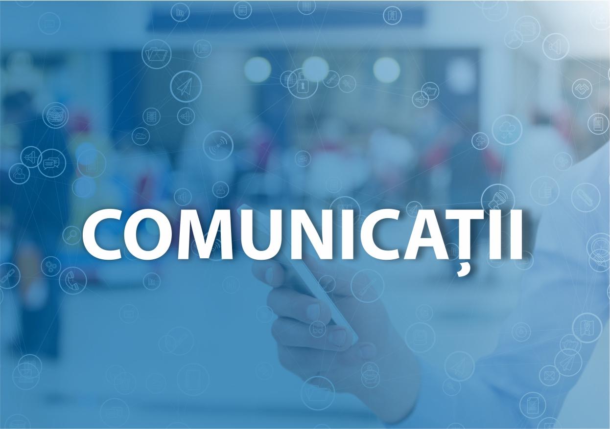 Comisia de specialitate - comunicatii