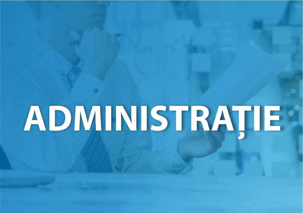 Comisii de specialitate - administratie