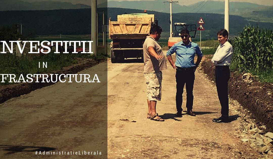 Proiecte de infrastructură rutieră în județul Alba