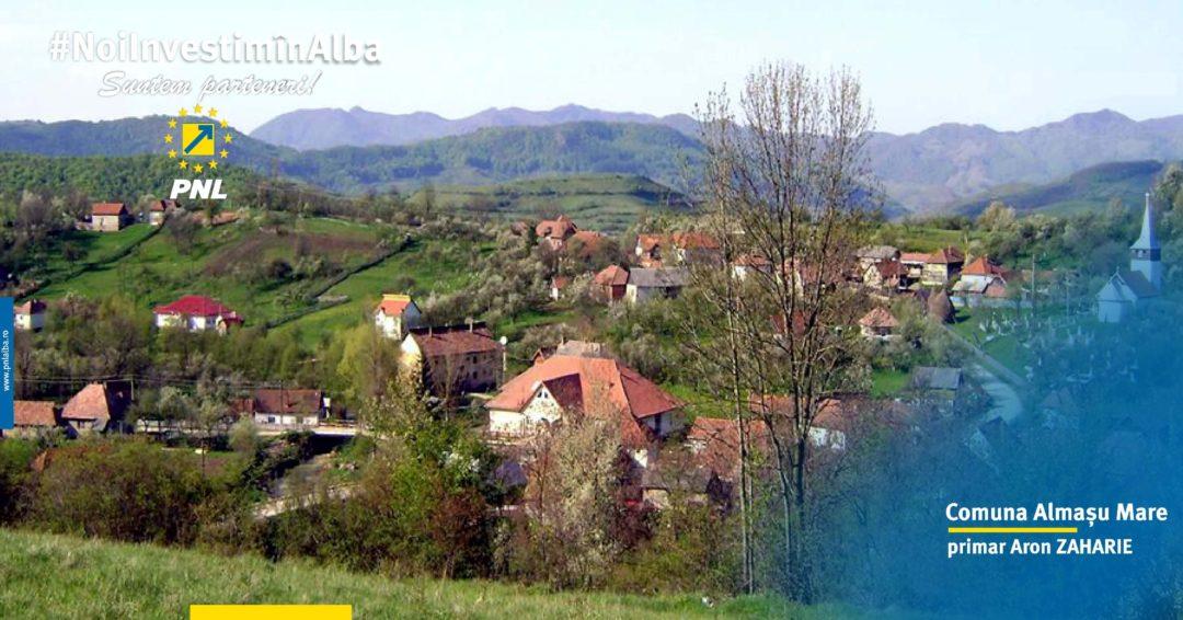 Comuna Almașu Mare: își continuă și în anul 2018 procesul de dezvoltare