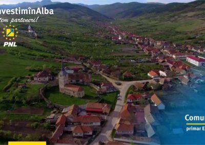 Comuna Cricău: își continuă procesul de dezvoltare indiferent de condiții