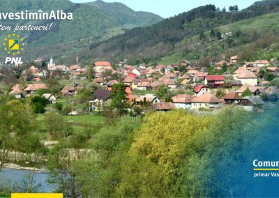 Comuna Sălciua: fondurile europene și naționale sunt fructificate pentru dezvoltarea locală