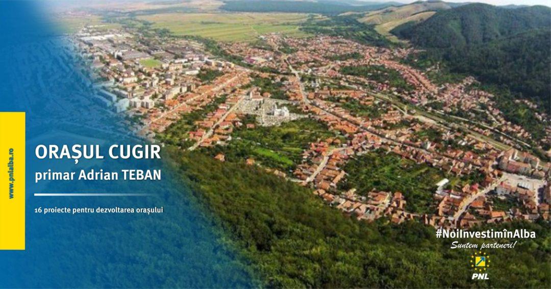 Orașul Cugir: 16 proiecte pentru dezvoltarea orașului au fost înaintate spre finanțare  cu fonduri europene sau guvernamentale