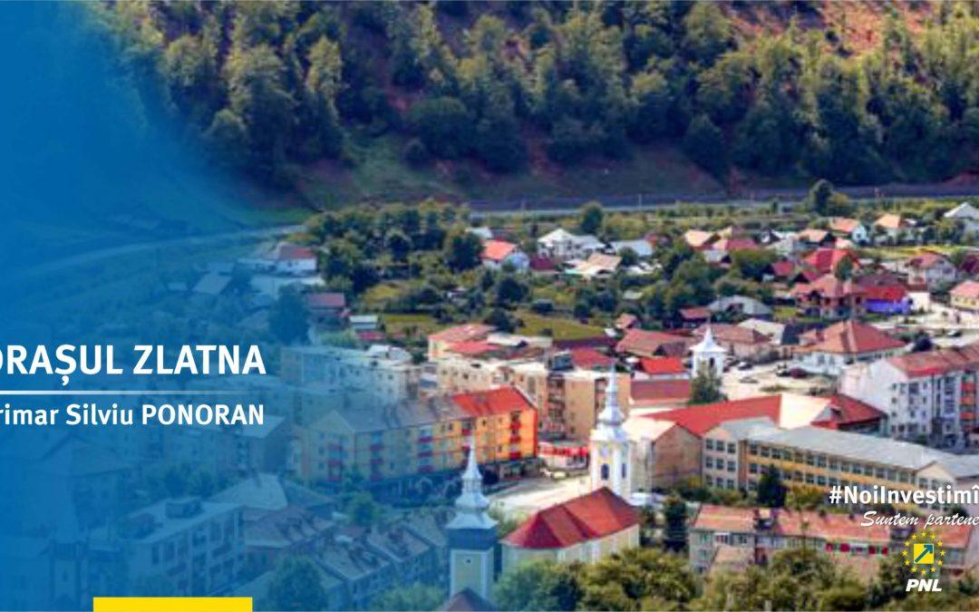 """Orașul Zlatna: proiectul """"Zlatna europeană"""" devine realitate cu fiecare proiect finalizat"""