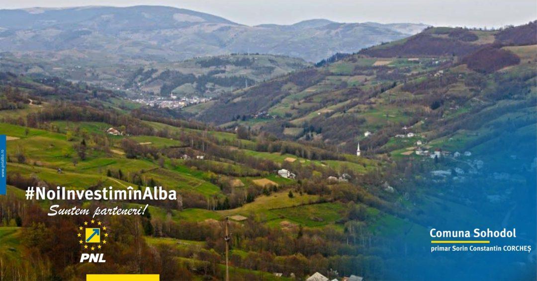 Sohodol: un utilaj de deszăpezire pentru drumurile din comună