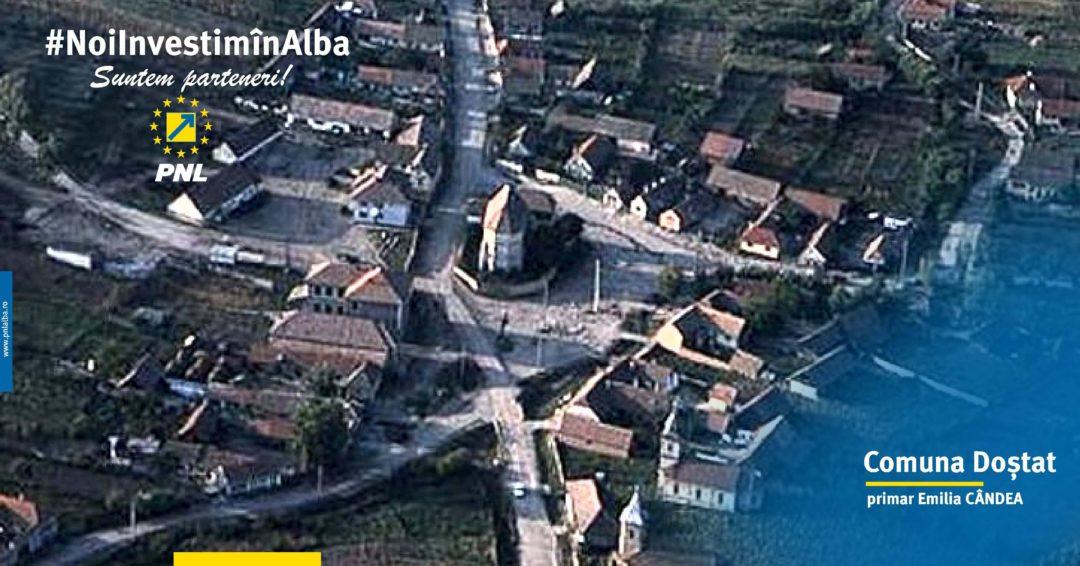 Comuna Doștat: reabilitarea căminelor culturale, a infrastructurii rutiere și extinderea rețelei de apă sunt proiecte în desfășurare