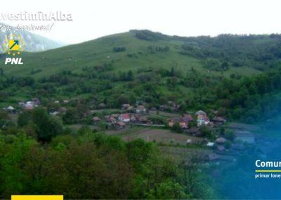 Comuna Poșaga: zeci de kilometri de drumuri sătești și forestiere reabilitate în 2018
