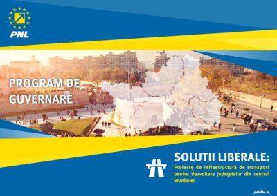 PROGRAM DE GUVERNARE: Soluții liberale pentru dezvoltarea Regiunii Centru