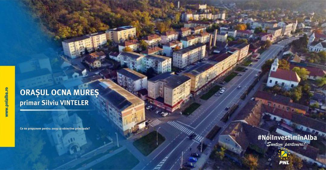 Orașul Ocna Mureș: obiectivele asumate în campania din 2016 încep să prindă contur