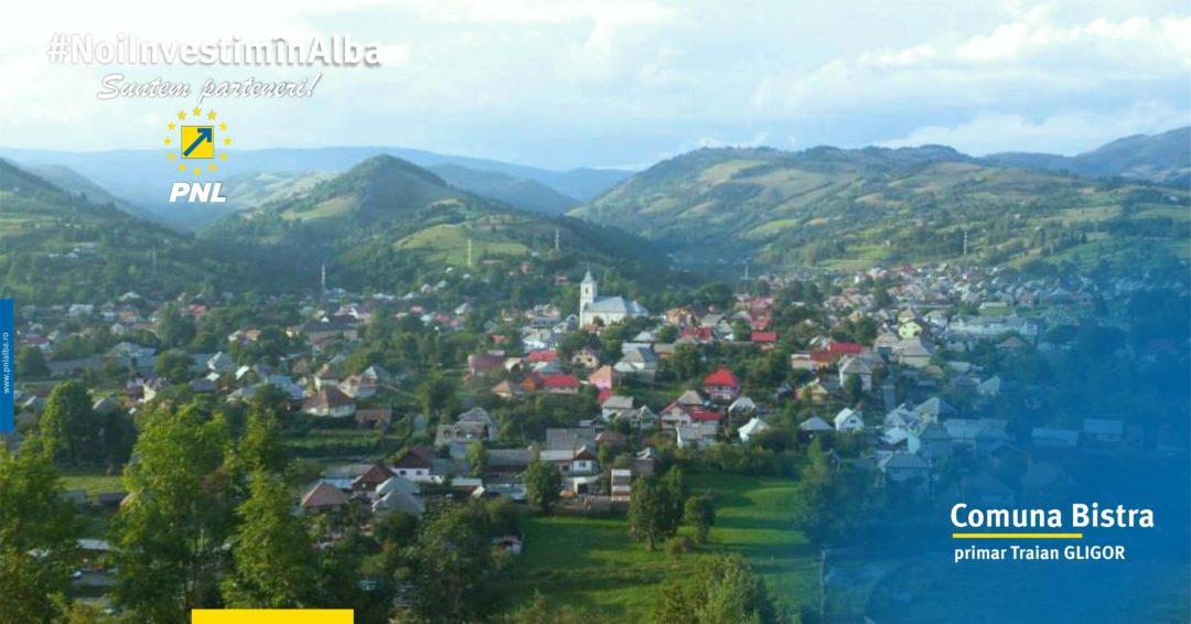 Comuna Bistra: tradiție și modernitate transpuse prin investiții