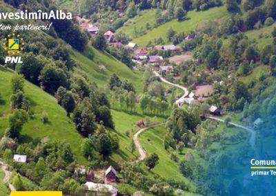 Comuna Întregalde: infrastructura locală în proces de modernizare