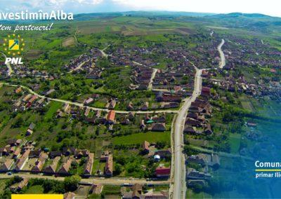 Comuna Sâncel: în prim plan au fost investițiile în infrastructura rutieră, culturală și educațională