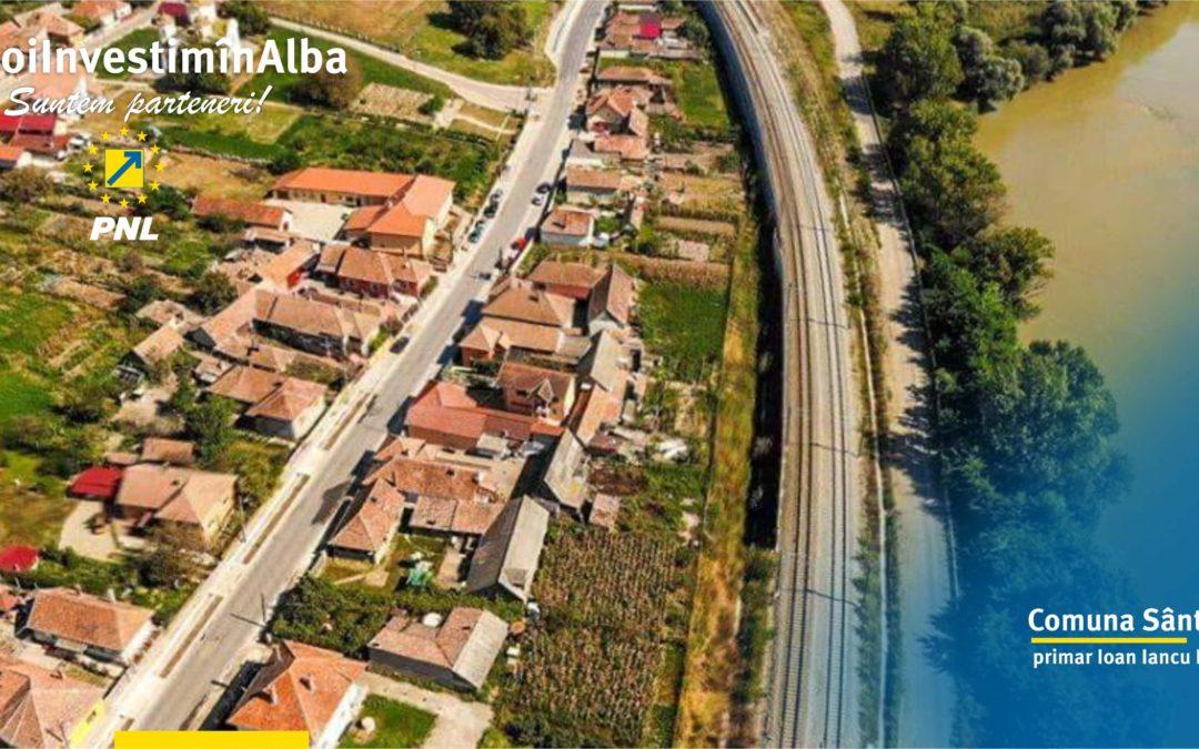 Comuna Sântimbru: proiectele implementate ne-au transformat într-o adevărată comună europeană