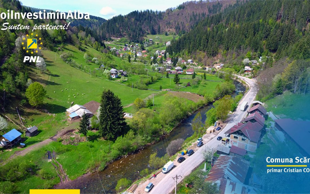 Comuna Scărișoara: proiecte pentru dezvoltarea locală