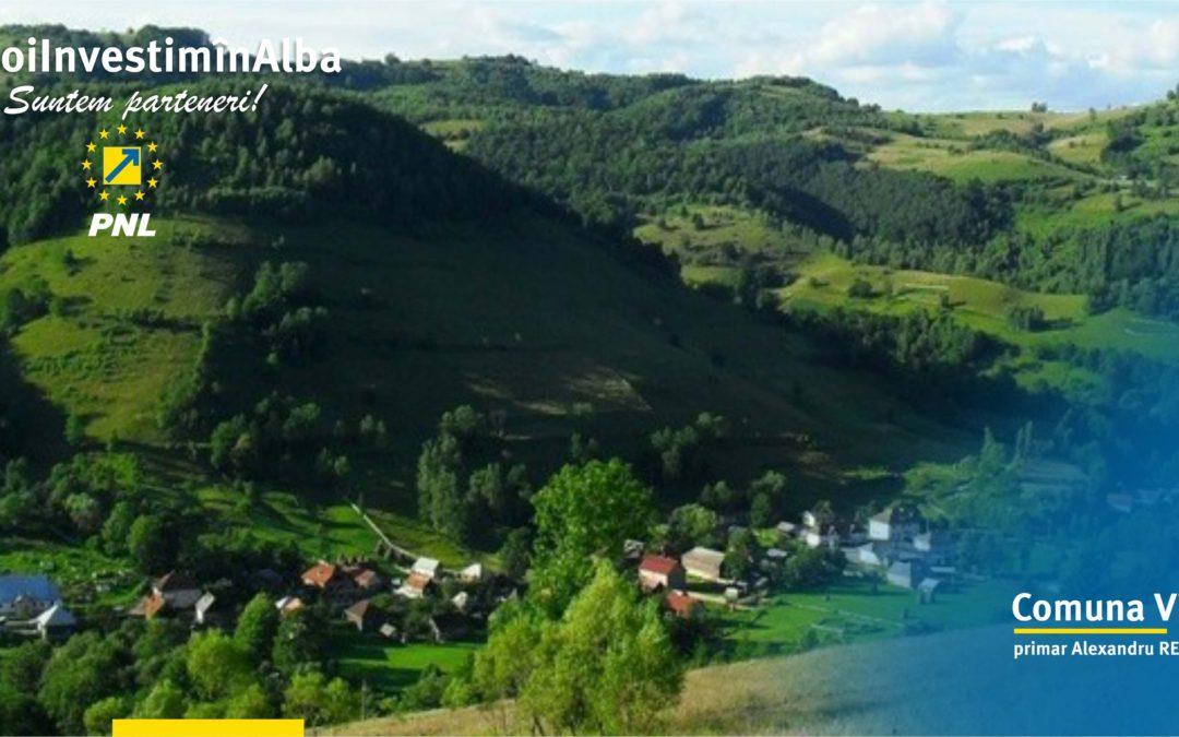 Comuna Vidra: încep marile investiții în infrastructura rutieră