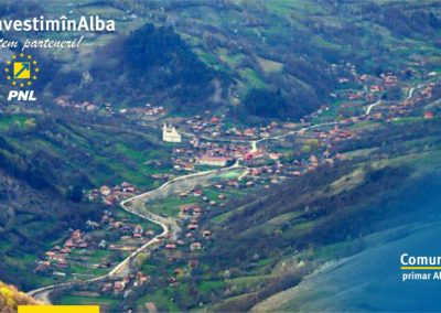 Comuna Ocoliș: 2018 a fost anul schimbării, s-au realizat lucrări pentru îmbunătățirea infrastructurii, învățământului și turismului