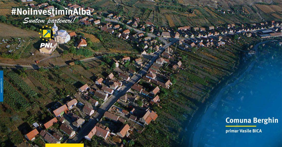 Comuna Berghin: investițiile se fac simțite la orice pas