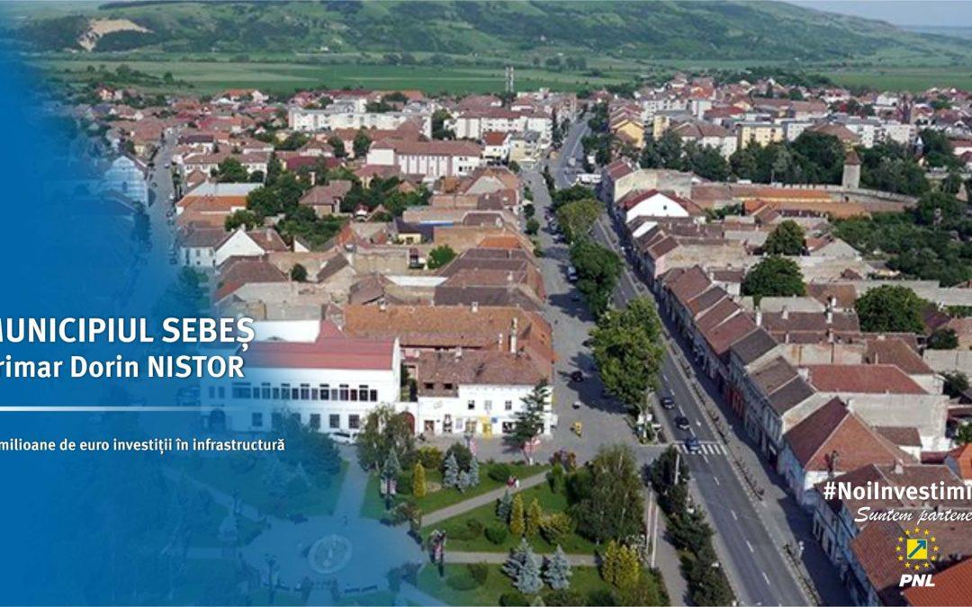 Municipiul Sebeș: 10 milioane de euro pentru investiții în infrastructură