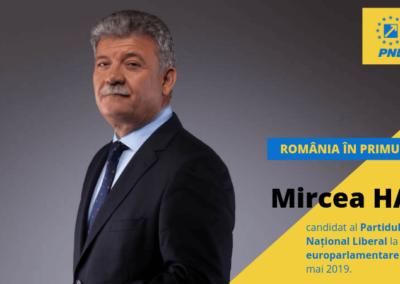 Mircea Hava este candidatul PNL Alba pentru europarlamentare