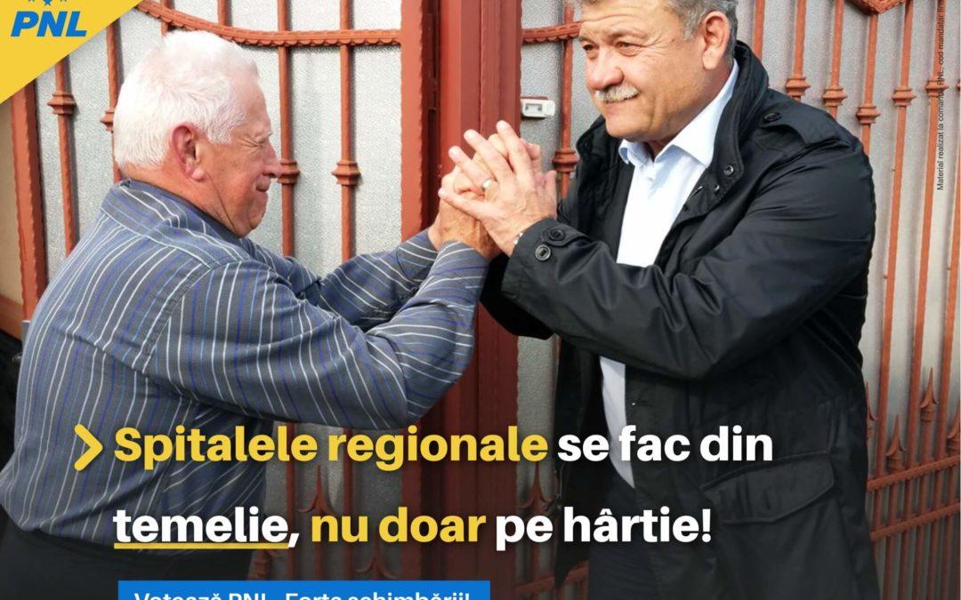 Mircea Hava: Spitalele regionale se fac din temelie, nu doar pe hârtie!