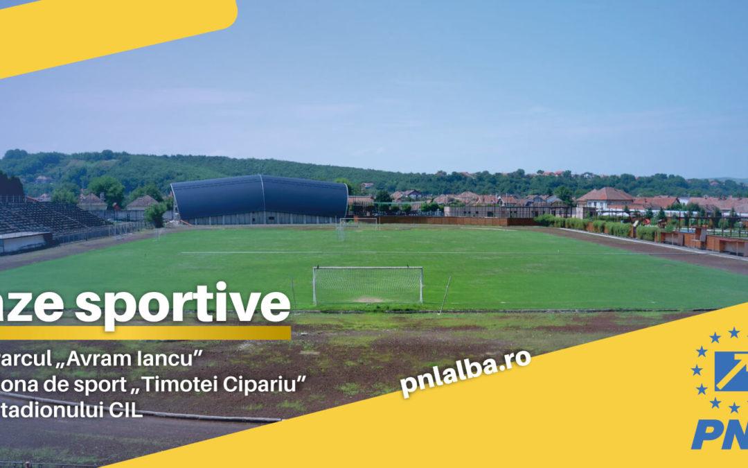 """Stadionul din Parcul """"Avram Iancu"""" – Blaj va fi modernizat"""
