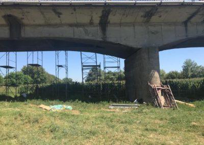 Marius Hațegan, Vicepreședinte CJ Alba: Au început lucrările de reabilitare a podului peste Râul Mureș de la Vințu de Jos