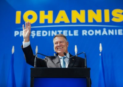 Klaus Iohannis: PSD pentru România a fost și este o catastrofă