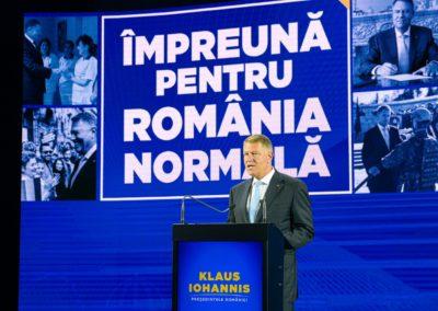 Klaus Iohannis ne-a ales pe noi, avem onoarea să îl alegem și noi pe el