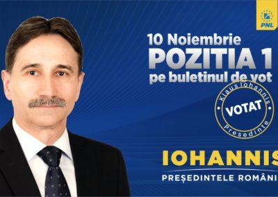 """De ce trebuie să fie Klaus Iohannis președinte. Ion Dumitrel: """"Este cea mai bună șansă pentru județul Alba"""""""