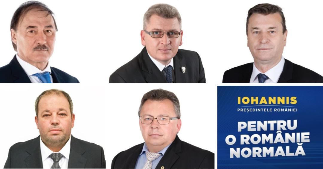 """""""Alba ține cu Iohannis, Alba ține cu România"""". Mesajul parlamentarilor de Alba, înaintea alegerilor prezidențiale"""