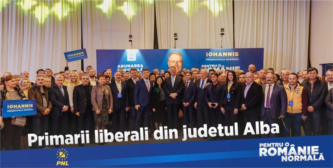 """""""Avem incredere in Klaus Iohannis, iar Klaus Iohannis se bazează pe noi."""" Primarii din județul Alba, alături de președinte, pentru o Românie normală!"""