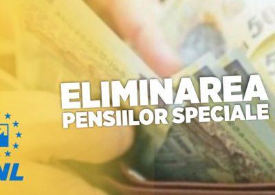 Eliminarea pensiilor speciale – un pas înainte spre normalitate