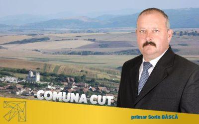 Sorin Bâscă: Consultați proiectele implementate în ultimii 4 ani în comuna Cut