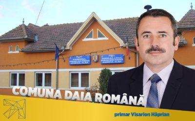 Visarion Hăprian: Comuna Daia Romană este într-o permanentă dezvoltare
