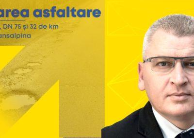 Guvernul liberal începe marea asfaltare a Ţării Moţilor şi Transalpinei