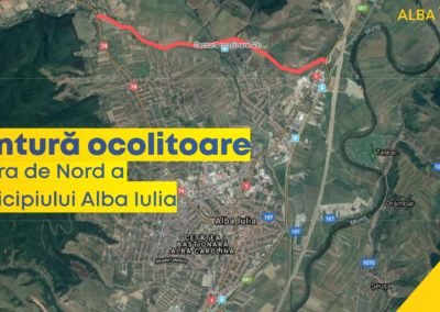 Au fost demarați primii pași pentru construirea centurii ocolitoare pe latura de Nord a municipiului Alba Iulia