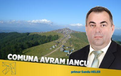 Sandu Heler: Dezvoltarea comunei Avram Iancu a plecat întotdeauna de la nevoile comunității