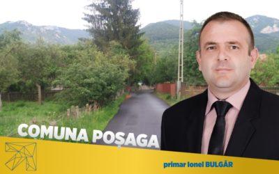Ionel Bulgăr: Drumurile din comuna Poșaga, sat Lunca Arieşului sunt asfaltate pentru prima dată