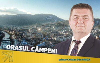 Cristian Dan Pașca: Dacă oamenii buni și capabili nu fac nimic în orașul Câmpeni, răul câștigă