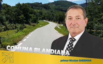Nicolae Gherman – omul de care se leagă dezvoltarea comunei Blandiana