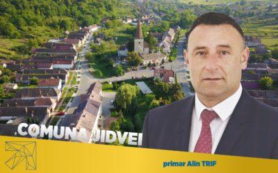 Alin Trif: În comuna Jidvei toate satele sunt asfaltate
