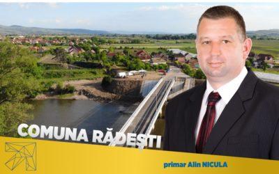 Alin Nicula: În comuna Rădești vom construi prima fabrică de preparare şi uscare a legumelor din judeţul Alba