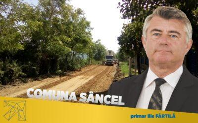 Ilie Frăţilă: prin muncă şi implicare, în comuna Sâncel s-au realizat numeroase investiţii în beneficiul cetăţenilor