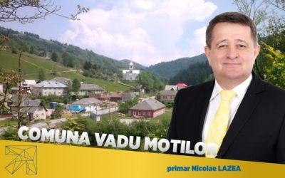 Nicolae Lazea: În comuna Vadu Moților fructificăm la maxim toate oportunitățile de finanțare disponibile
