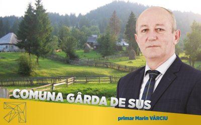 Marin Vârciu: Educaţia este prioritară pentru administraţia liberală a comunei Gârda de Sus