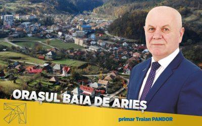 Traian Pandor: În Baia de Arieș proiectele de investiții sunt mereu o prioritate