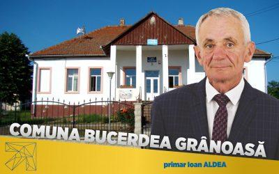 Ioan Aldea: În comuna Bucerdea Grânoasă educația este o prioritate alături de infrastructura edilitară