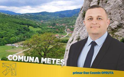 Dan Cosmin Opruţa: De la infrastructură şi până la cultură, Comuna Meteş trece prin transformări ample