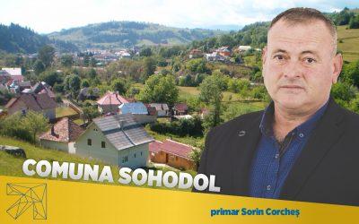 Sorin Corcheş: Prin proiectele implementate în comuna Sohodol ne propunem ca infrastructura să fie adusă la standarde ridicate