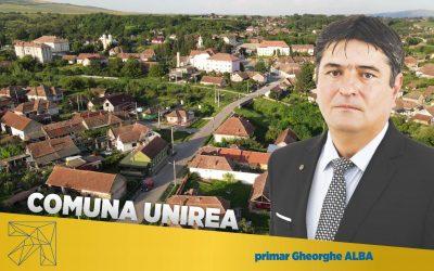 Gheorghe Alba: Infrastructură de calitate şi implicare activă în viaţa comunităţii – coordonatele administraţiei liberale din comuna Unirea